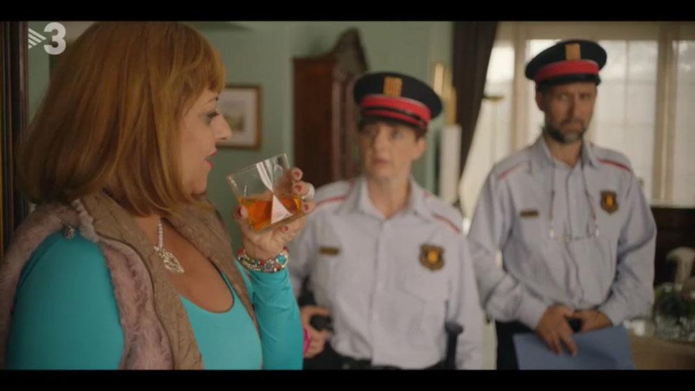 La actriz Yolanda Ramos en una escena de 'Benvinguts a la Família'.