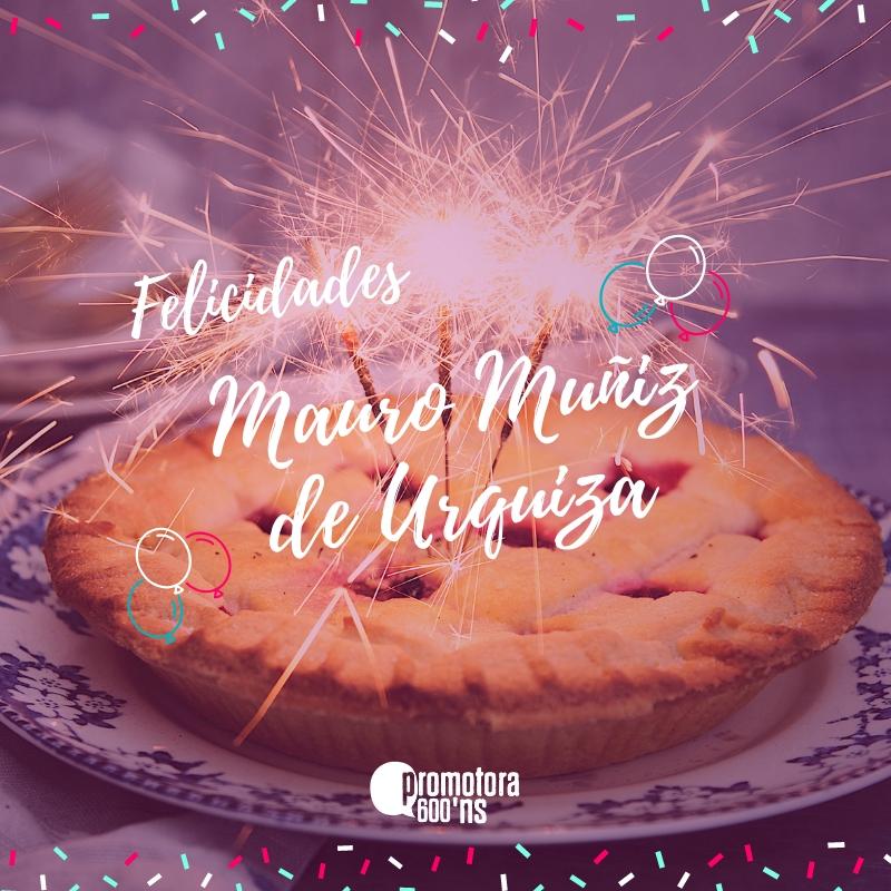 Felicitación Mauro