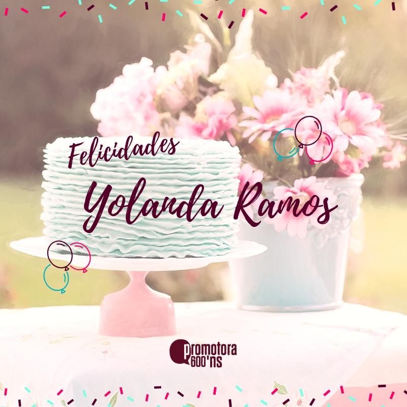 Felicitación Yolanda Ramos