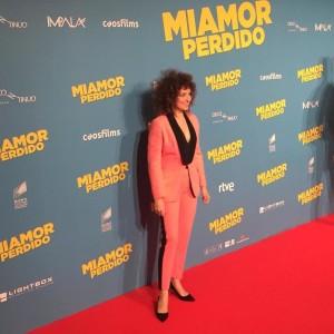 Virginia Riezu en Miamor Perdido Premiere