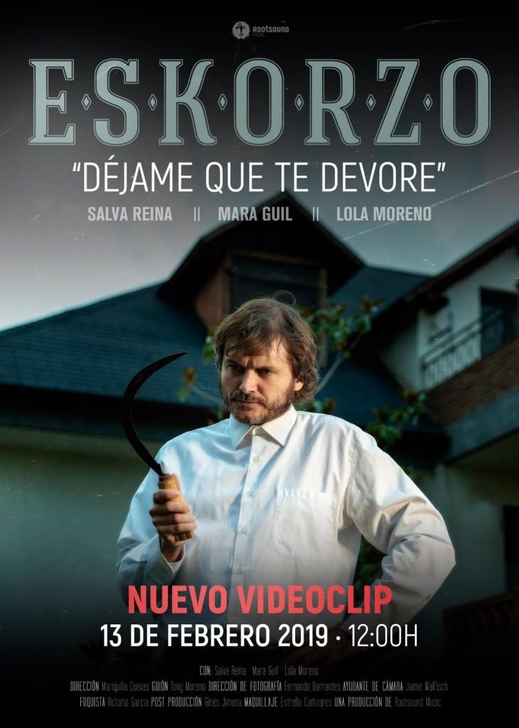 videoclip de Eskorzo con Salva Reina