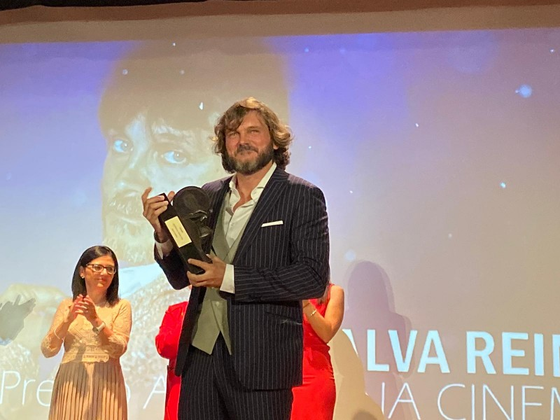 Salva Reina premio Archidona Cinema 7