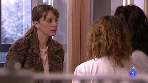 La actriz Miriam Benoit en un momento en el capítulo de Centro Médico.