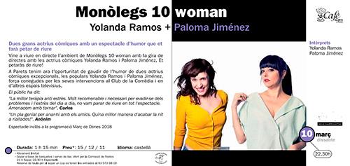 Yolanda Ramos y Paloma Jiménez en Parets del Vallès