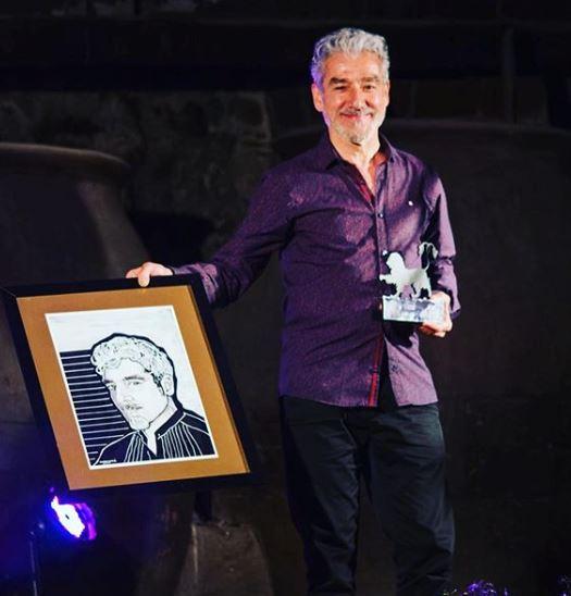 Sergio Pazos recoge premio