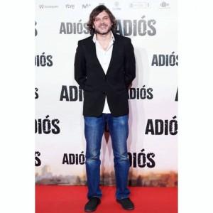Salva Reina en la premiere de 'Adiós' de Paco Cabezas
